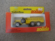 Solido Toner Gam Dodge 6x6 Truck #2007 MIB See My Store