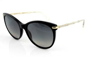 b0bc11a4f06 RARE NEW Genuine GUCCI Crystals Black Gold Cat Eye Sunglasses ...