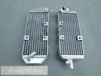 Aluminum Radiator Set For Suzuki Rm125 1993-1995 93 94 95 2 Stroke