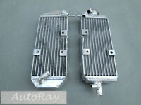 Aluminum Radiator Set For Suzuki Rm125 1993-1995 93 94 95 2 Stroke