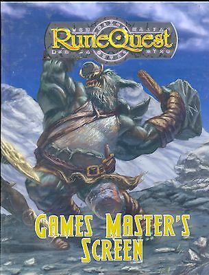 2019 Moda Mgp8100 Runequest Games Master's Screen Vo