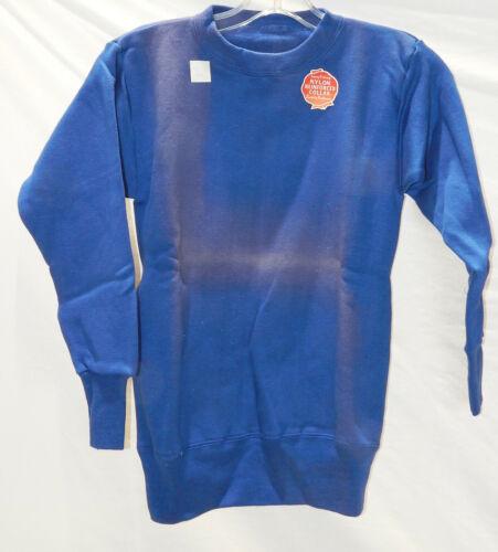 1940's-50's NOS  Blue Sweatshirt