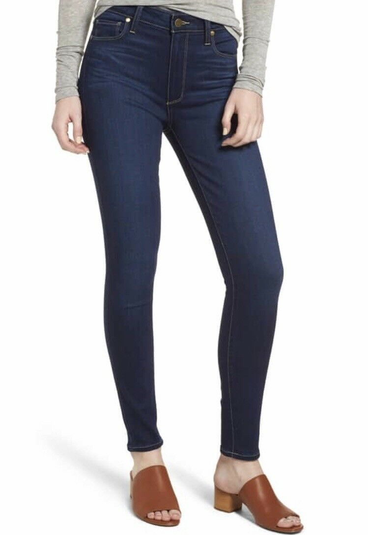 Paige Hoxton High Waist Ankle Skinny Jeans. Size 29.