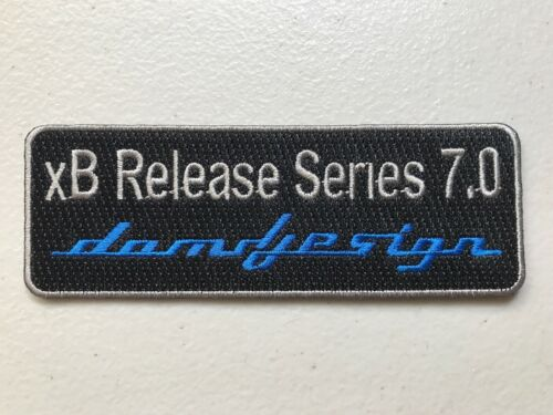 "Scion xB Release Series 7.0 DAMD Design Toyota TRD Logo Patch 5"" X 1.75"" XB"