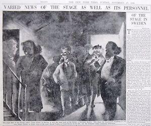 Art Al Hirschfeld Ivoryton Playhouse Conn Milton Stiefel Simmons 7-1940 July 7