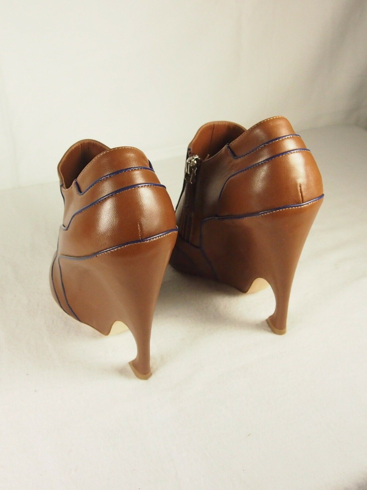 DIOR Chromatic shoes Bootie  Camel bluee bluee bluee Sz 39 Reg 1200.00 eac9b4