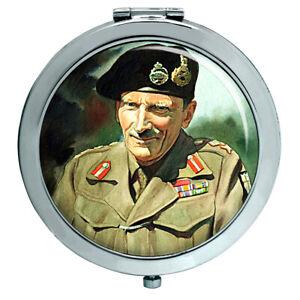 Feld Marshal Bernard Law Montgomery Kompakter Spiegel