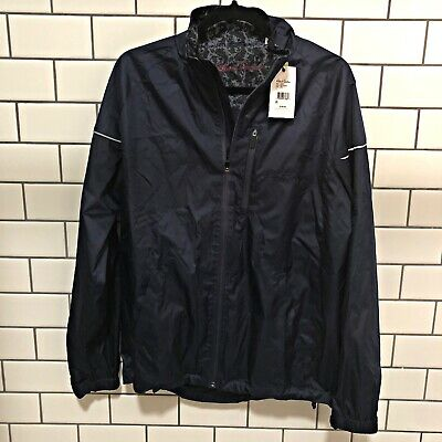 new ROBERT GRAHAM men jacket Derek RFF175100CF classic fit navy 2XL MSRP $198