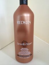NEW REDKEN SMOOTH DOWN SHAMPOO Dry Unruly Hair 33.8 Oz  Anti Frizz Smoothing