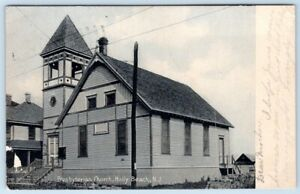 1910-039-s-ERA-HOLLY-BEACH-NEW-JERSEY-NJ-PRESBYTERIAN-CHURCH-PUBL-R-W-RYAN-WILDWOOD