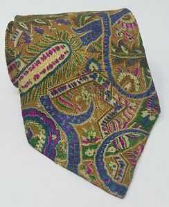 Cravatta-kenzo-paris-in-seta-100-silk-tie-original-vintage-made-in-italy-handma