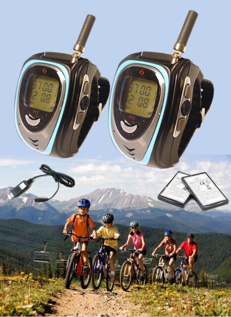 GS-066ST A USB Watch walkie talkie w FM Radio(476MHz ,licence free in Australia)