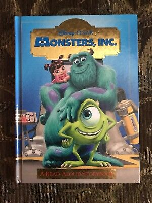 A Read Aloud Storybook Monsters Inc 9780736412353 Ebay
