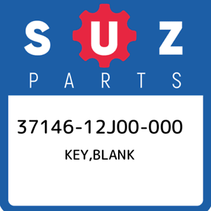 37146-12J00-000-Suzuki-Key-blank-3714612J00000-New-Genuine-OEM-Part