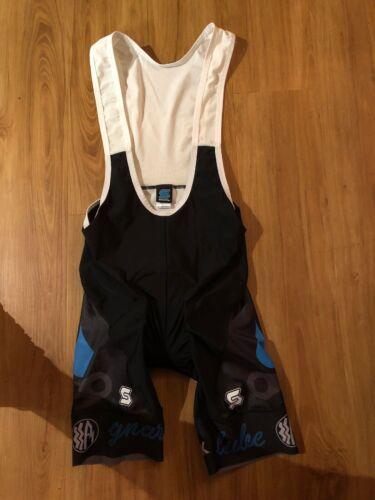 Squadra Land Shark Mens Cycling Bib Shorts X-Small