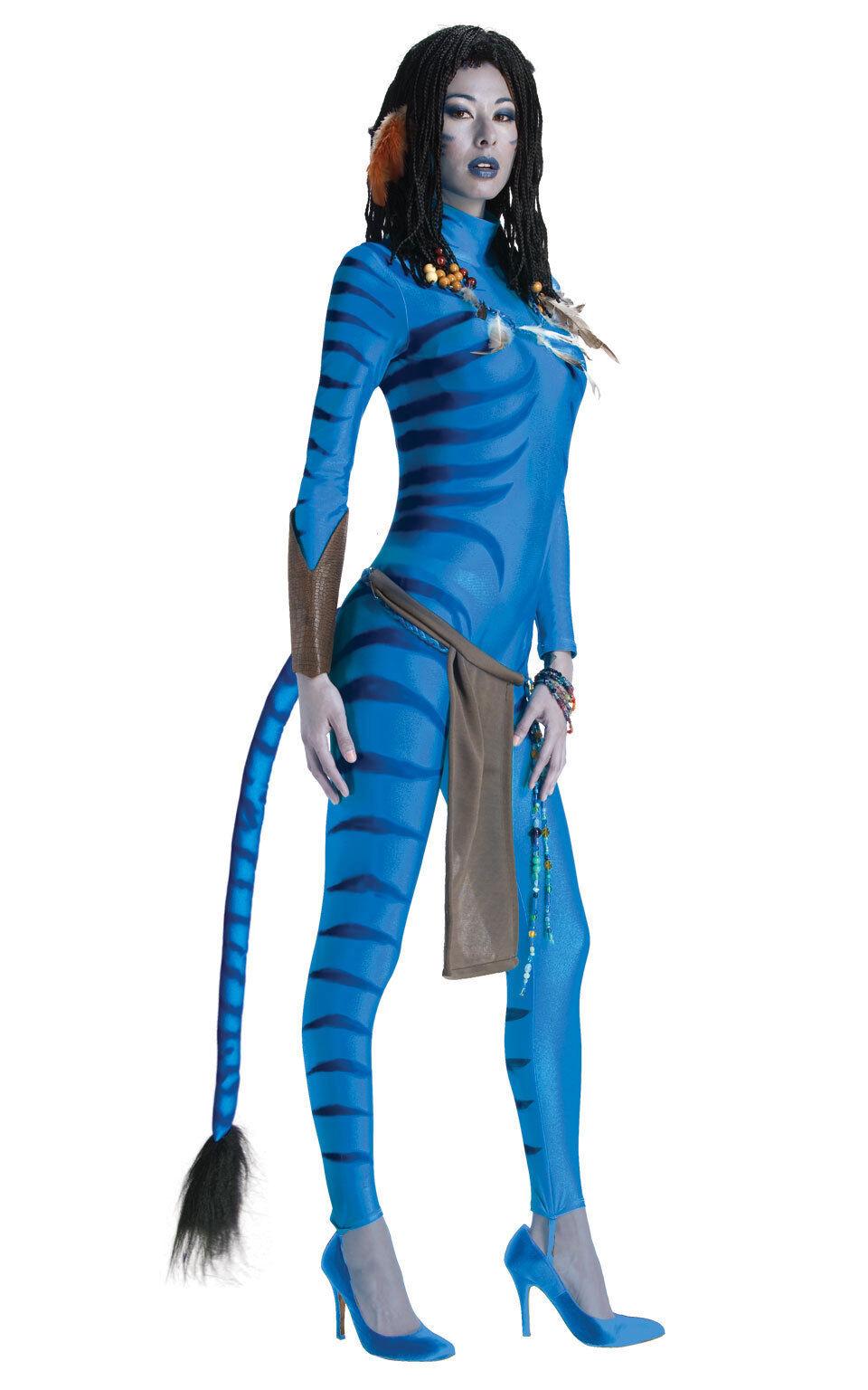 Adult AVATAR Fancy Dress Costume Sculley Neytiri Neytiri Neytiri Bodysuit Halloween Film TV | Good Design  | Preisreduktion  77f992