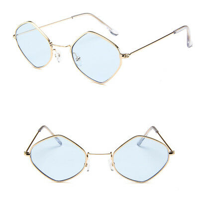 Diamond Metal Frame Women Sunglasses Vintage Square Sunglasses Fashion Shade New