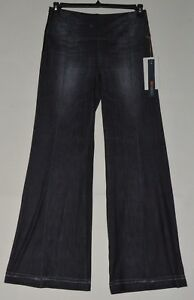 Lucy-Indigo-Flare-Pants-Indigo-Women-039-s-Casual-Pants-Jeans-XS-S-M-L-XL-New-138