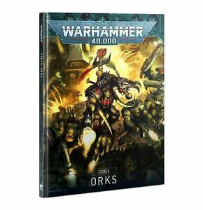 Codex: Orks - Warhammer 40k Book - Brand New! 9th Edition / Latest Version