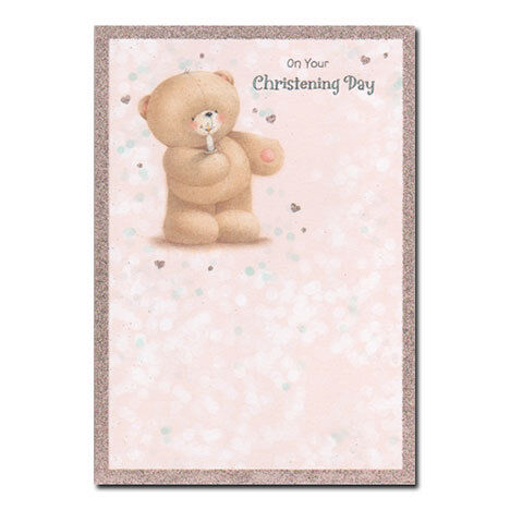 Various Forever Friends Christening Cards