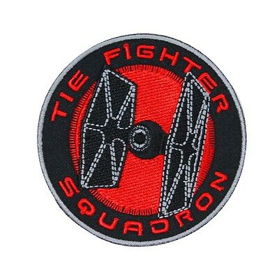 Disney Star Wars TIE Fighter Squadron Patch Officially Licensed Iron On Applique