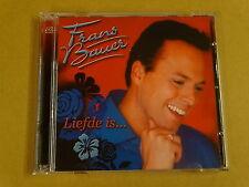 2-CD / FRANS BAUER – LIEFDE IS...