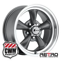 Buick Regal Wheels 15 Inch 15x7 Charcoal Gray Rims For Buick Regal 1982-1987