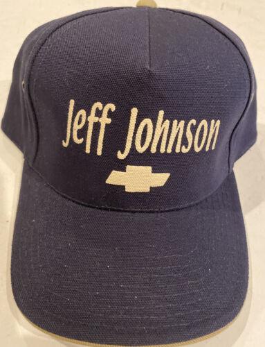 Jeff Johnson Chevrolet Hat Cobra Cars Truck Racing Gem
