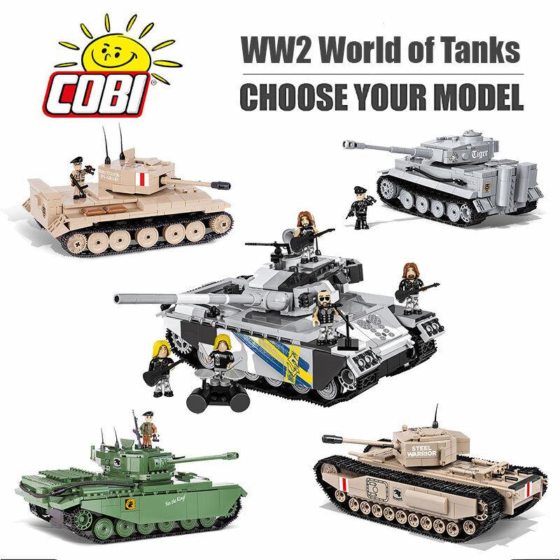 COBI World of Tanks WOT Construction Sets - Choose Your Model