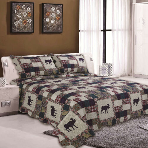 New King Bed Spread 3 Piece Reversible Comforter Bed Throw Beds Spreads Designs