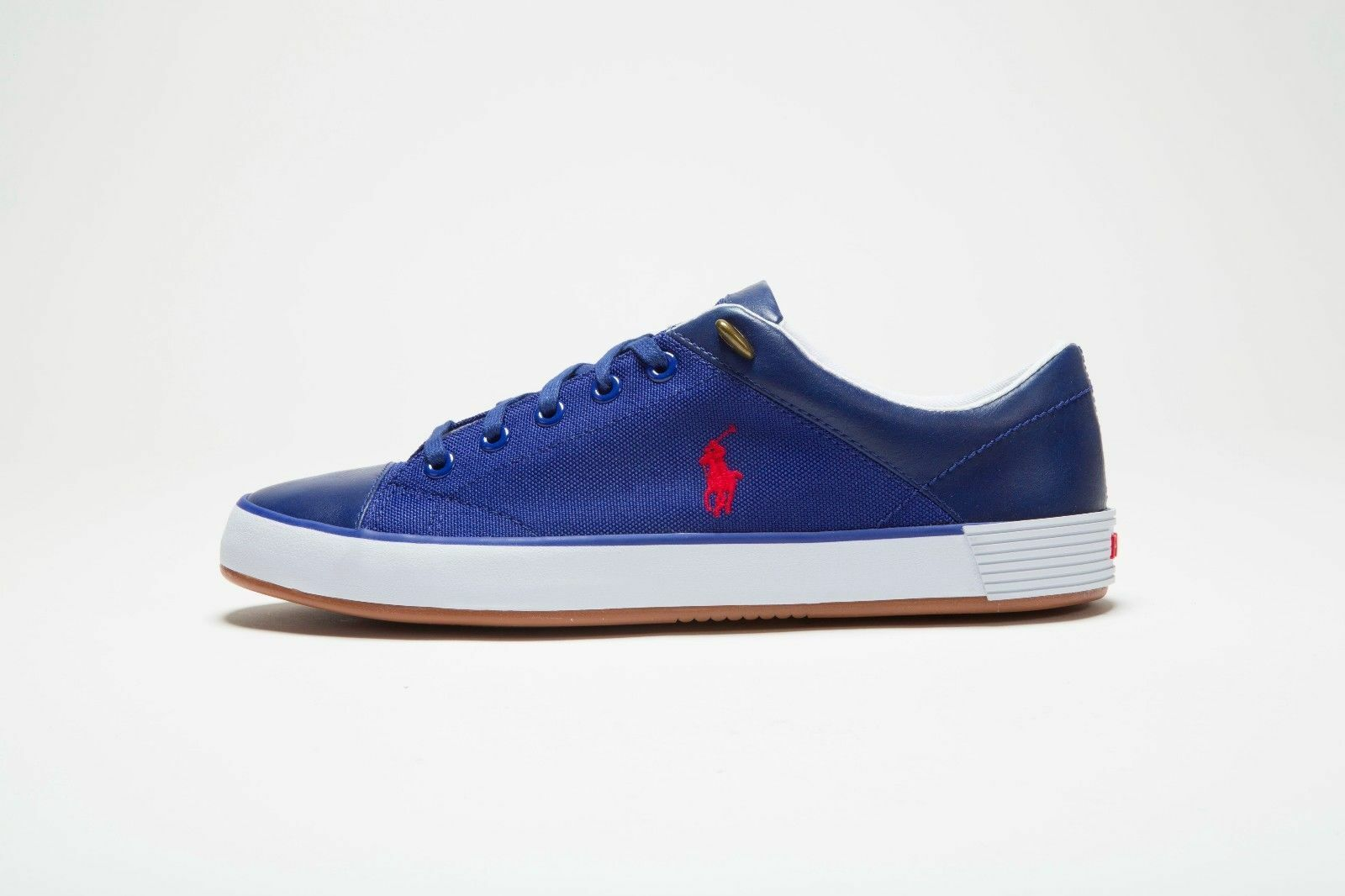 Ralph Lauren Polo Jerom Canvas Heritage Royal bluee Trainers Cordura  Worldwide