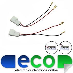 peugeot 107 upto 2015 car speaker wiring harness adaptor plug rh ebay co uk Toyota Aygo Peugeot 308