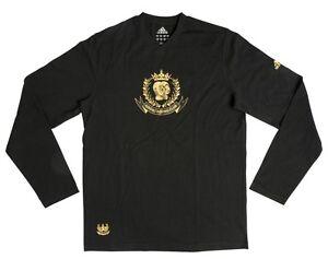 adidas-Boxing-Shirt-Box-Shirt-langarm-schwarz-gold-ADITB01-Gr-S-M-L-XL