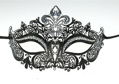 Sexy Mask Elegant Metal Laser Cut Venetian Halloween Ball Masquerade Luxury Mask