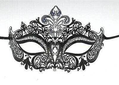 Sexy Mask Elegant Metal Laser Cut Venetian Halloween Ball Masquerade Luxury Mask