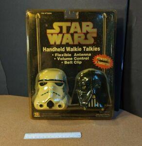 1994 Star Wars DARTH VADER & STORMTROOPER Walkie Talkies New in Package