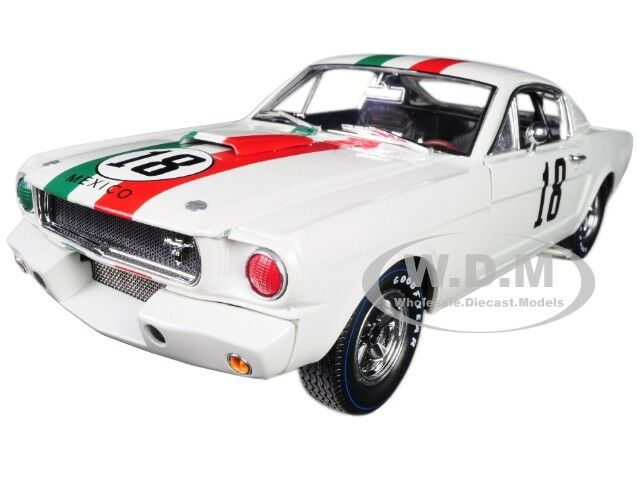 1965 Ford Shelby Mustang GT350R  18 Mexico 1 18 Shelby Collectibles SC357
