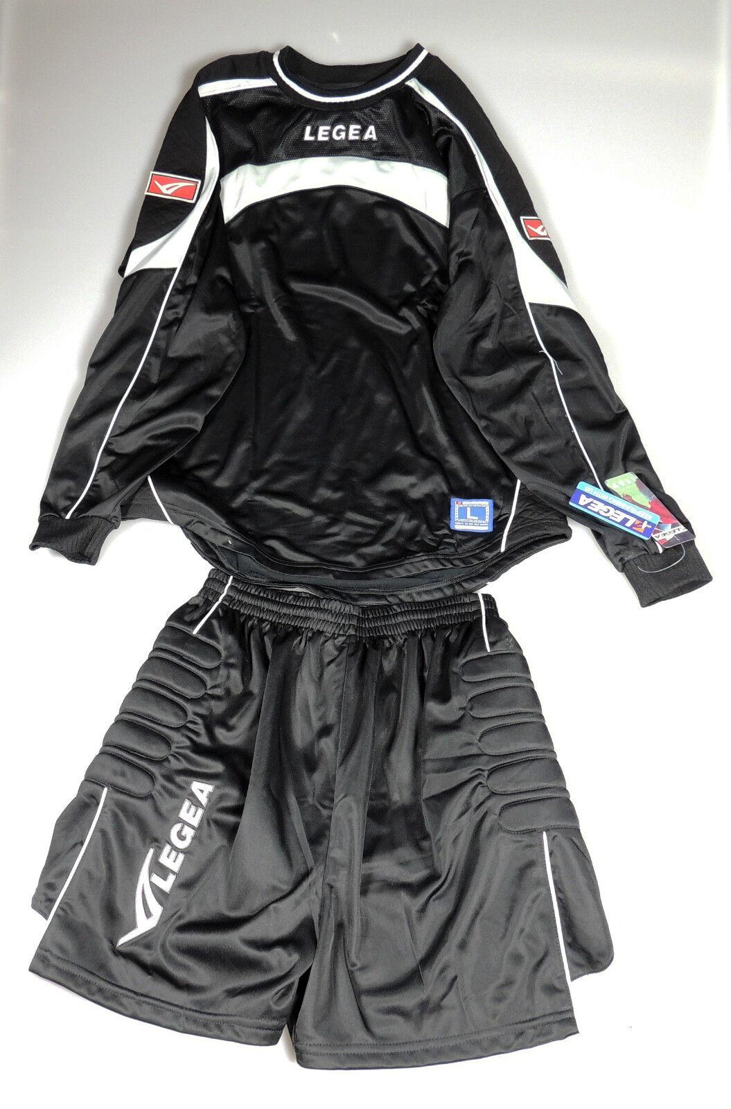 NEW Legea Adult Soccer Uniform Goakeeper Kit Jersey & Shorts (Retail )
