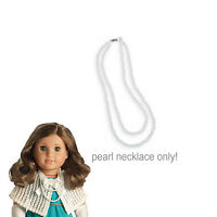 American Girl Rebecca Costume Chest Pearls 1 Pc For 18 Dolls White Necklace