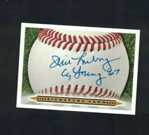 Jim Lonborg Boston Red Sox Signed Custom Signature Card W/OUR COA