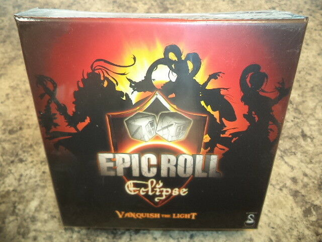 Epic Roll & Epic Roll Eclipse - Summon Entertainment Games Board Games Both New