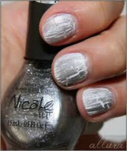 Details about 1 OPI Nail Polish Laquer Silver Texture NI 378 Nicole