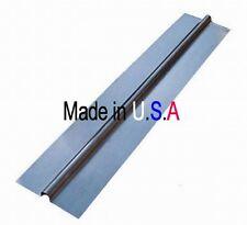 "100 - 4' Omega Aluminum Radiant Heat Transfer Plates for 1/2"" Pex Tubing"