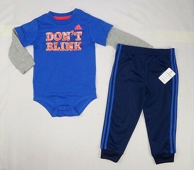 Tommy Hilfiger baby Boys set Long sleeve top and pants set szs 3//6 6//9 months