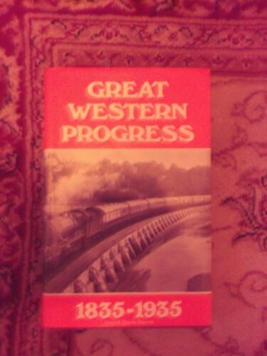 1 of 1 - Great Western Progress, Eighteen Thirty-Five-Nineteen Thirty-Five by David &...