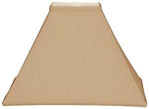 Square Sharp Corner Basic Lamp Shade Ebay