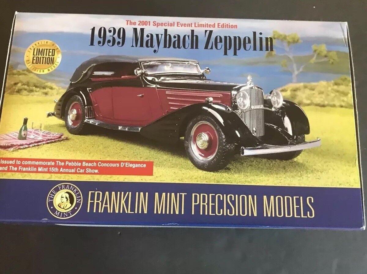 Franklin Comme neuf 1939 Maybach Zeppelin événement spécial édition limitée 1 24 Diecast