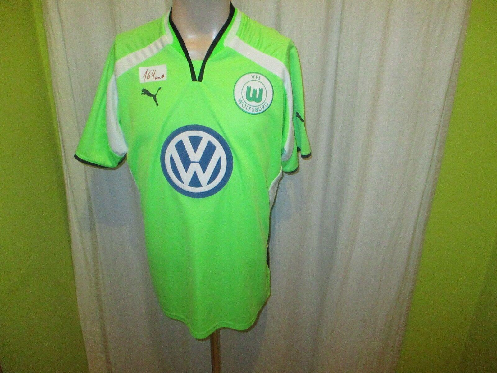 VfL Wolfsburg Original Puma Heim Trikot 2000/01