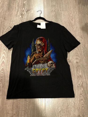 New Tales from the Crypt Vintage Tv Series EC Comic Men/'s Gildan T Shirt Reprint