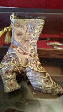 Collectable Unusual Ornate Victorian Style Christmas Stocking